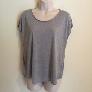 Victoria's Secret women's cropped top gray